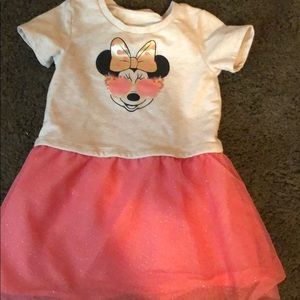 GAP Minnie Mouse toddler girl's dress 3T